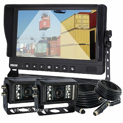 Veise 9  Rear View Back Up Camera Video System For Bus  Motor Home  Boat  Truck