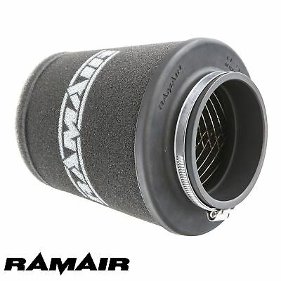RAMAIR INDUCTION FOAM CONE AIR FILTER UNIVERSAL WIDE 80mm MADE IN THE UK