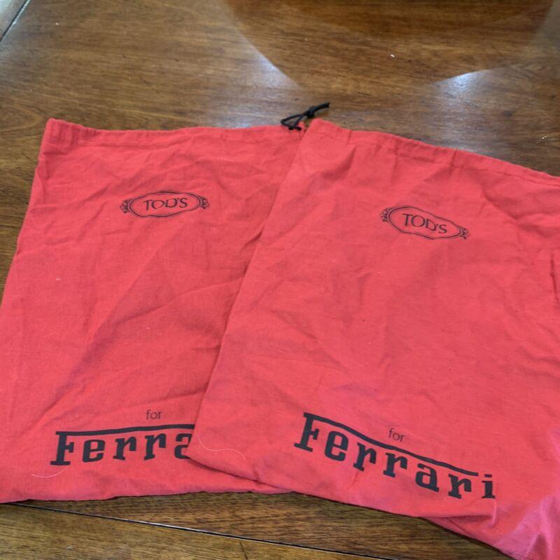 Tods Ferrari Dust Bag Dust Cover