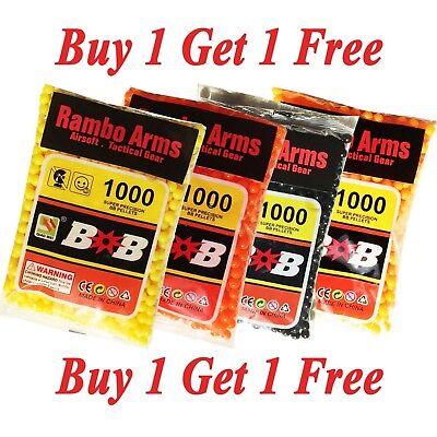 Airsoft Bb Bullets - Airsoft Gun Bullets 1000pcs 0.12 Gram 6 mm BB's Pellets Ammo Buy 1 Get 1 Free