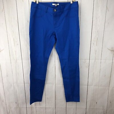 BB Dakota Pool Blue Crop Skinny Jeans Size 30 NWT ()