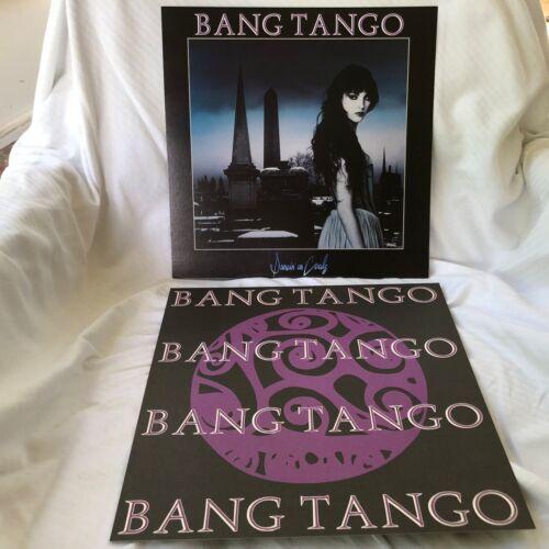 BANG TANGO Dancing on Coals 2-sided 12 x 12 Promo LP Flat / Poster  -- RARE