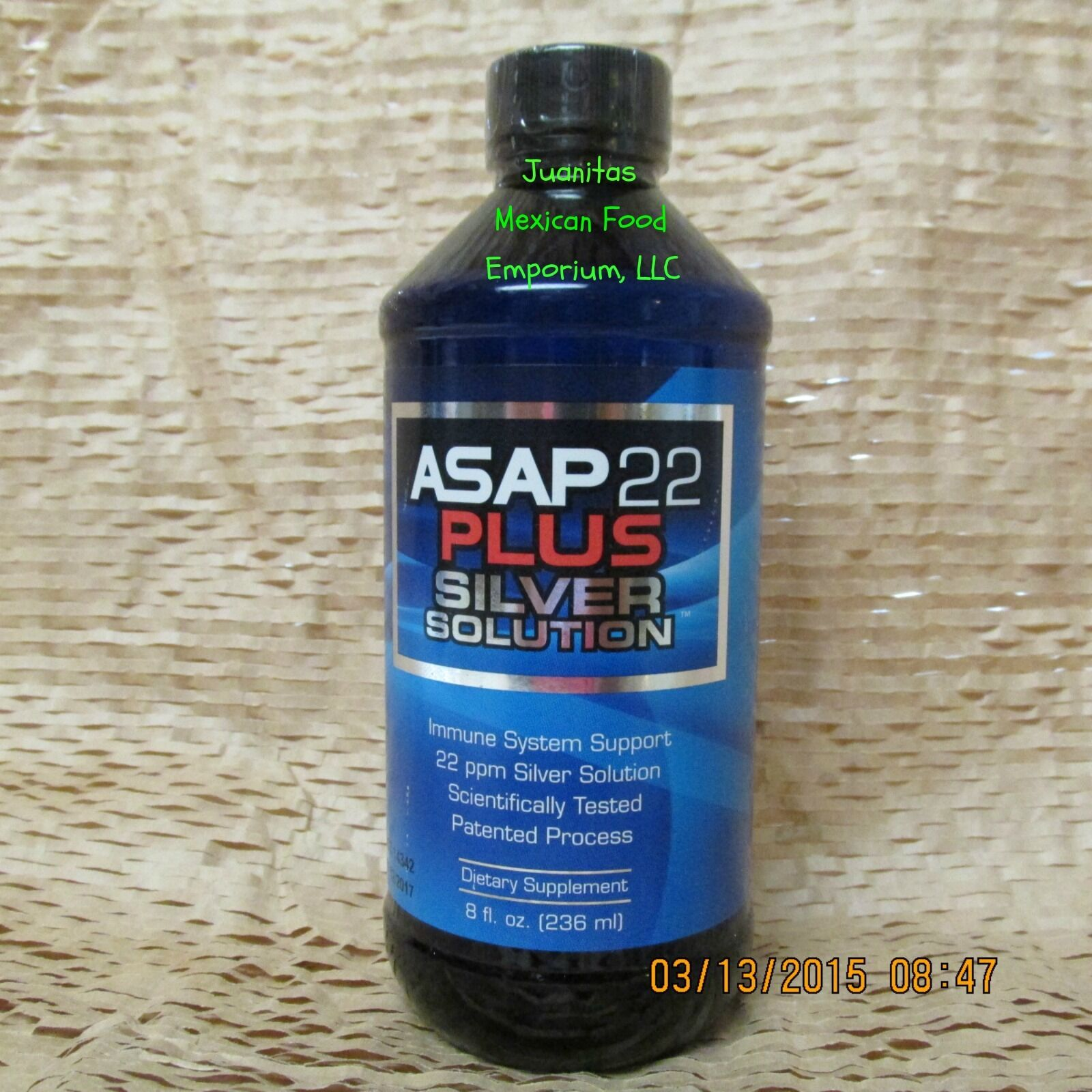 Asap 22 Plus Liquid 22ppm 8 Oz Silver Sol Solution Immune...