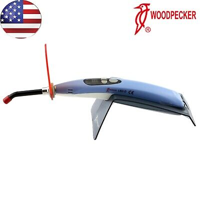 Woodpecker Dental Curing Light Cordless Cure Lamp Led.d Original 1700mwcm Usa