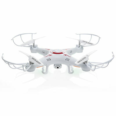 RC 6-Axis Quadcopter Flying Drone Toy With Gyro and HD Camera Far-removed LED Lights