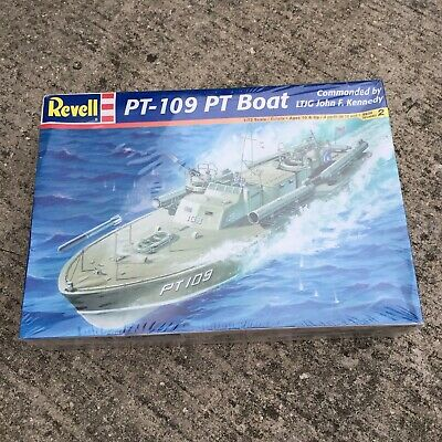PT-109 PT Boat Revell 1:72 Scale Model Kit 85-0310 John F Kennedy SEALED