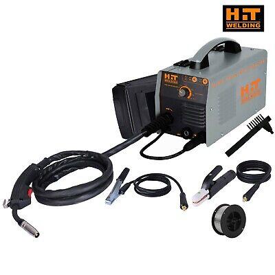 Hit 140 Amp Mig 120v Welder Includes Gas Hose Regulator 10 Ft. Tweco Type M...