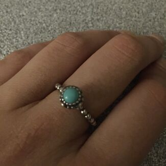Turquoise & Silver December Birthstone