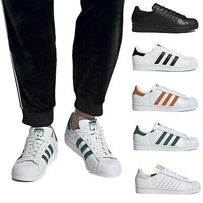Adidas Originals Superstar Shoes Men's Classic Basketball Sneakers covid 19 (Adidas Superstar Classic coronavirus)