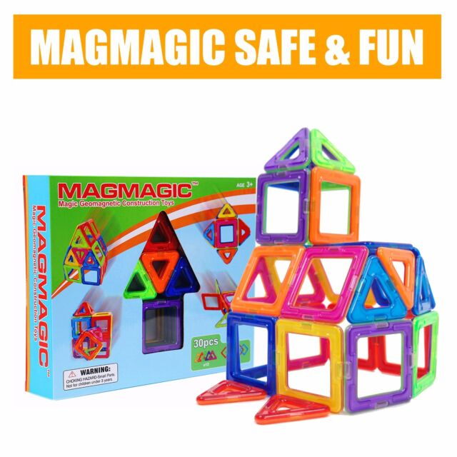 Magmagic Magnetic Construction Building Set Toys Magnets Toy Early Education