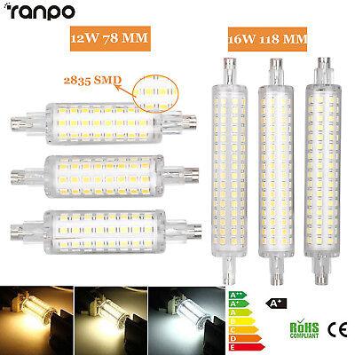 LED Flood Light R7S 78mm 118mm Bulb 12W 16W 2835 SMD  Replacement Halogen - Flood Halogen Light Bulb Lamp