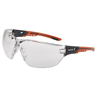 Bolle Ness Safety Glasses With Clear Anti-fog Lens