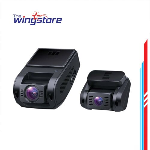 Dual Dash Cam HD 1080P Front and Rear With Lens Night Vision, AUKEY Dashcam