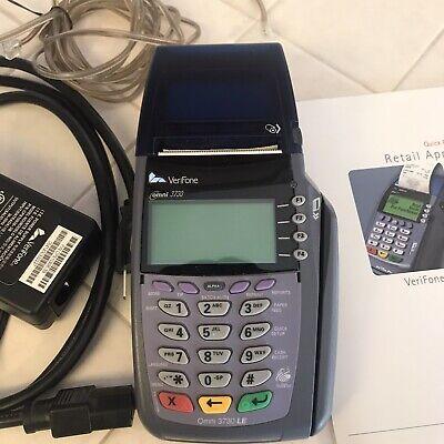 Verifone Vx 510 Credit Card Machine Omni 3730 Preowned