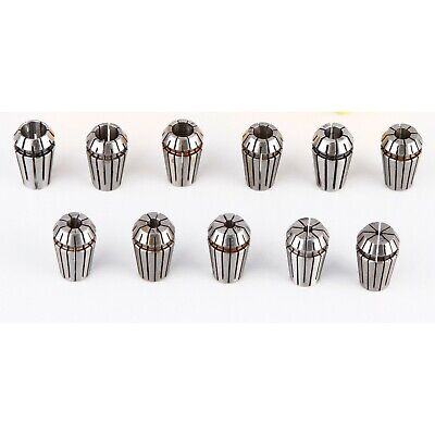 High Precision Metric Er11 Collet Set 11pcs 2-7mm Er11 Collets Promotion Sell