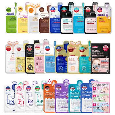 MEDIHEAL Face Sheet Mask Korean Facial Skin Care Moisturizing Soothing Pack