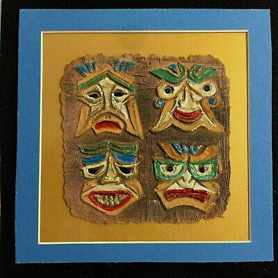 """Rare C T WONG ART Print Hong Kong's Famous Print Artist Title """"EMOTION"""" 10 X 10"""""""