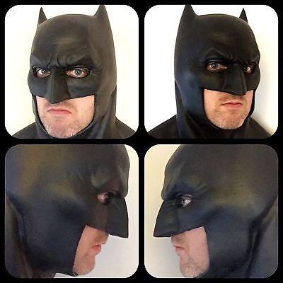 Batman V Superman Dawn of Justice Dark Knight Cowl Mask Costume Prop - BvS DOJ