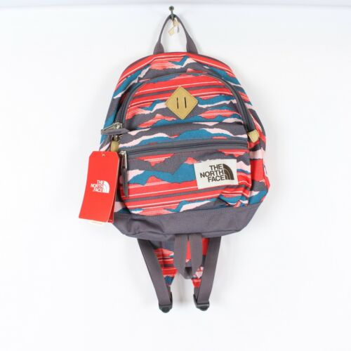 The North Face Mini Mini Berkley New 9L Backpack Juicy Red Stripe NWT Back Pack