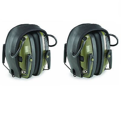Howard Leight R-01526 Impact Sport Electronic Shooting Ear Muffs 2-Pair Package Hearing Protection