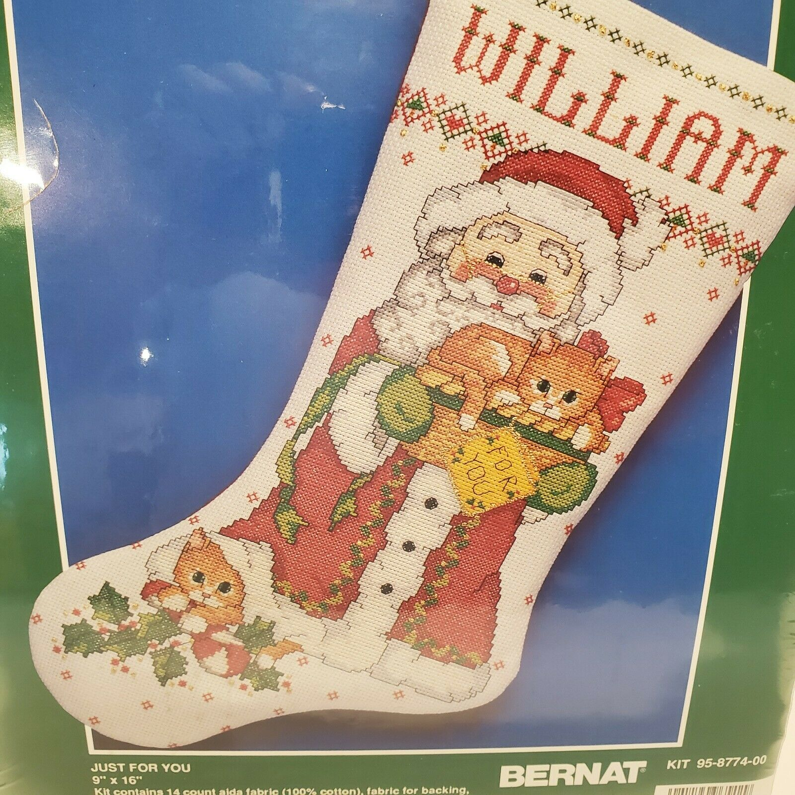 just for you cross stitch xmas 16