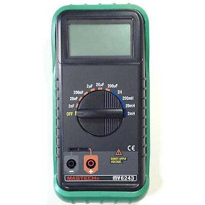 Mastech My6243 Lc Digital Multimeter Capacitance And Inductance Tester