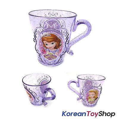 Disney Princess Sofia the First Plastic Tiara Handle Cup 290ml Purple Korea