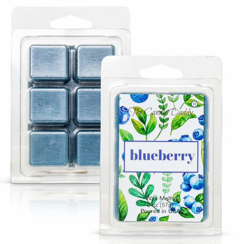 Blueberry - Sweet Blueberry Scented Melt- Maximum Scent Wax Cubes/Melts- 1 Pack