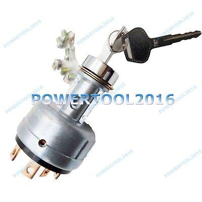 Ignition Switch With 2 Keys For Komatsu Pc120-6 Pc78us-6