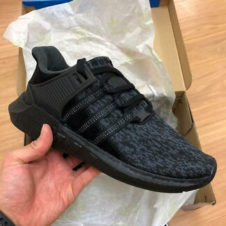 Adidas Originals EQT Support 93/17 Triple Black (BY9512) - US 10