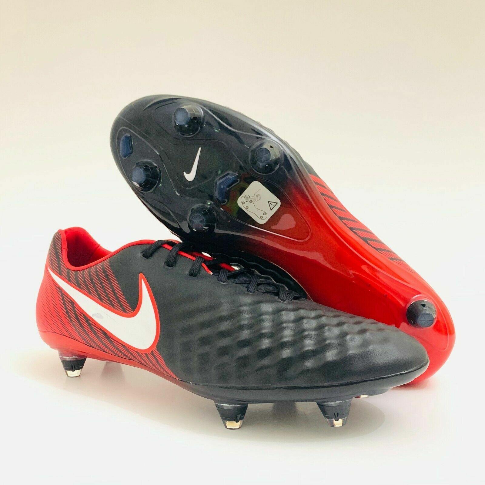diferente Mesa final Imperio Inca  Nike Magista Opus ll SG-Pro ACC Men's Soccer Cleats Black/Red 844597-062 Sz  8 | eBay