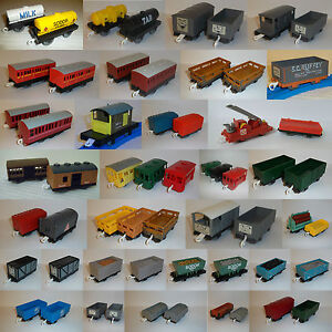 Tomy trackmaster tomica thomas the tank engine train trucks carriages