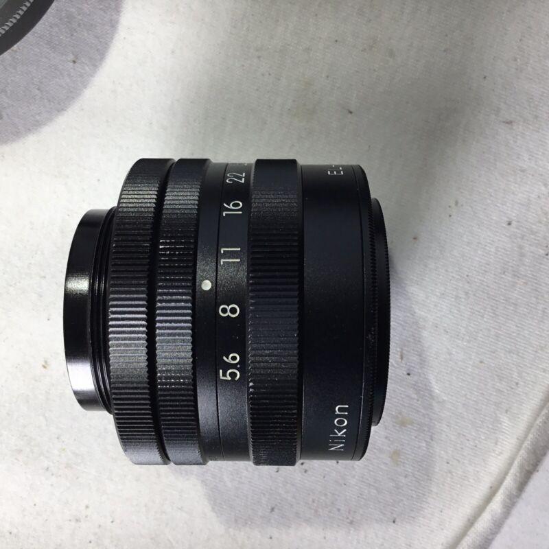 EL-Nikkor 135mm f5.6 Enlarging Lens and adapter