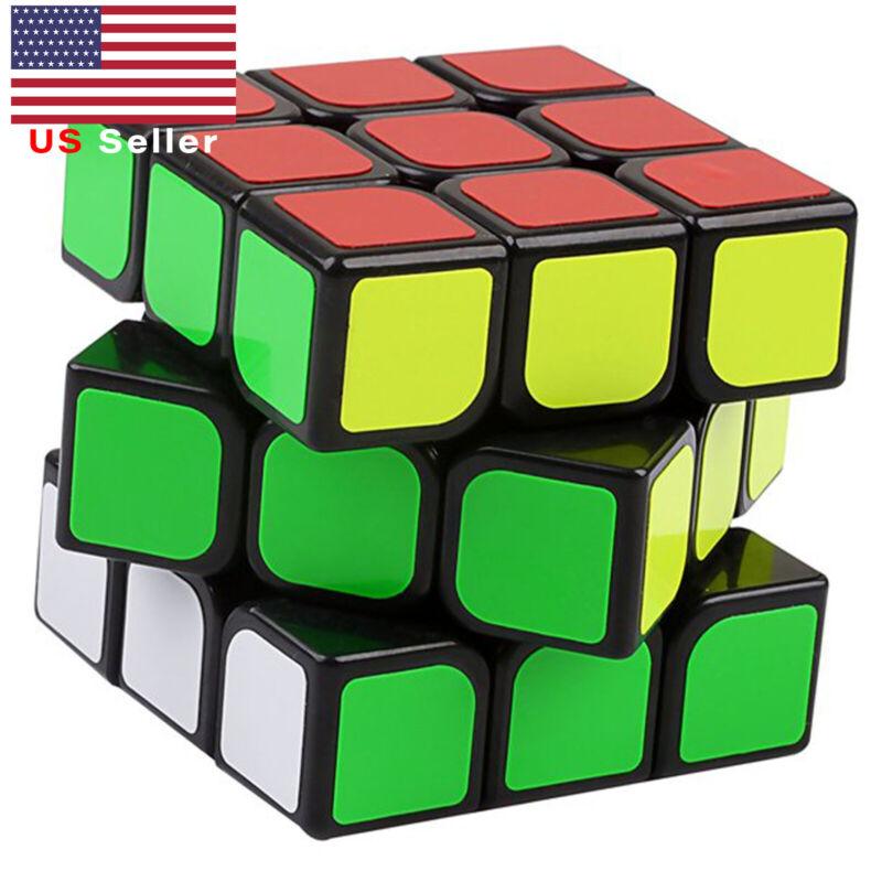 YJ GuanLong 3x3 Speed Cube Twist Magic Brain Kid Set World Record Puzzle Toy NEW