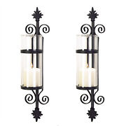 Wall Pillar Candle Holders