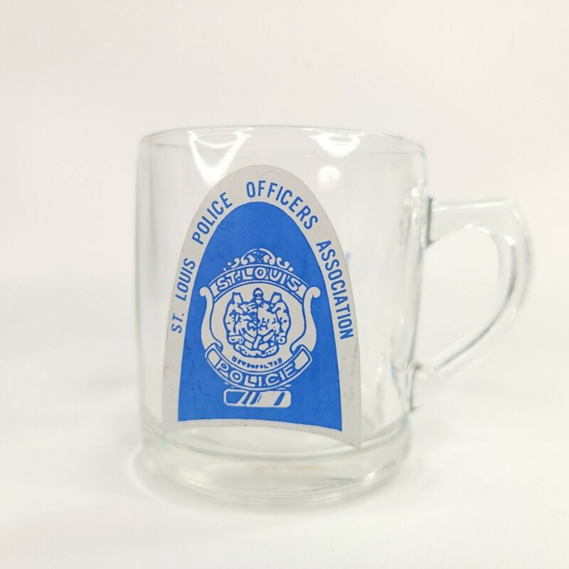 St Louis Officers Association 15th Anniversary 1968-1983 Drinking Glass