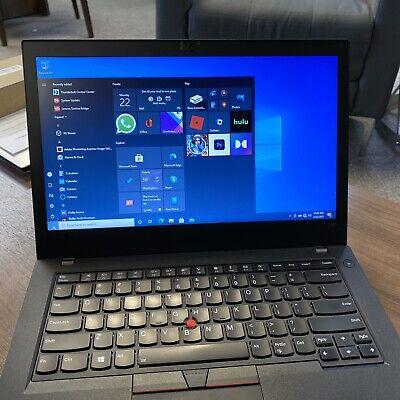 """Lenovo Thinkpad T480 14"""" FHD i5-8350U 1.7GHz 8GB 256GB"""