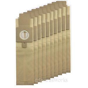 10 x Vacuum Bags For Hoover H20 Purepower U3466 U3480 U3470 U3485