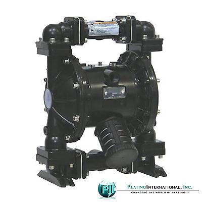 Industrial 2 Aluminumhytrel Double Diaphragm Air Pump 220f New In Box