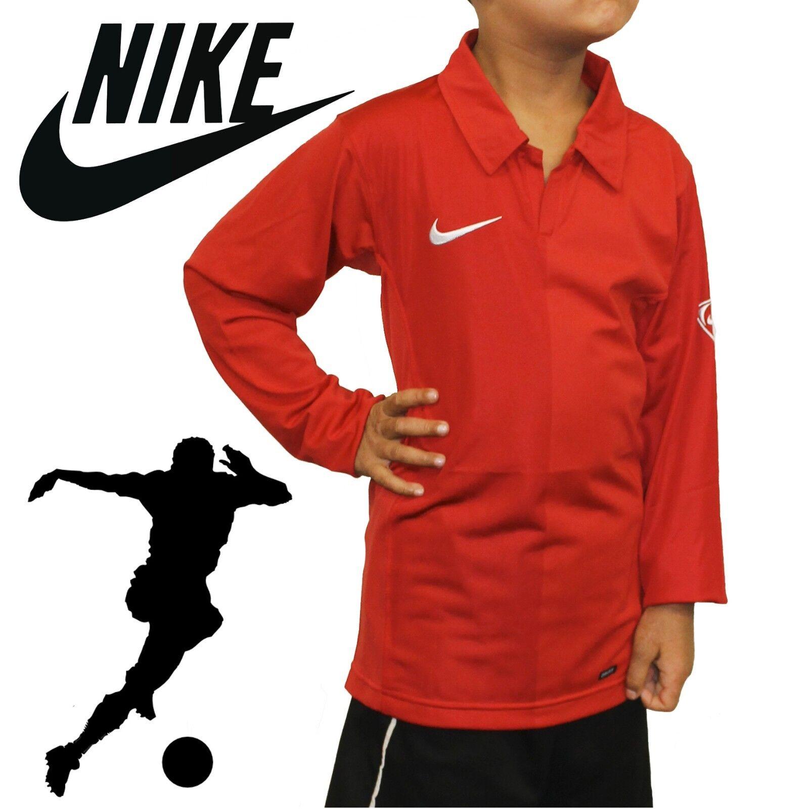 Jerseys Nike Sport Boys Football T Kids Tops Rugby Sleeve Long qIAqa