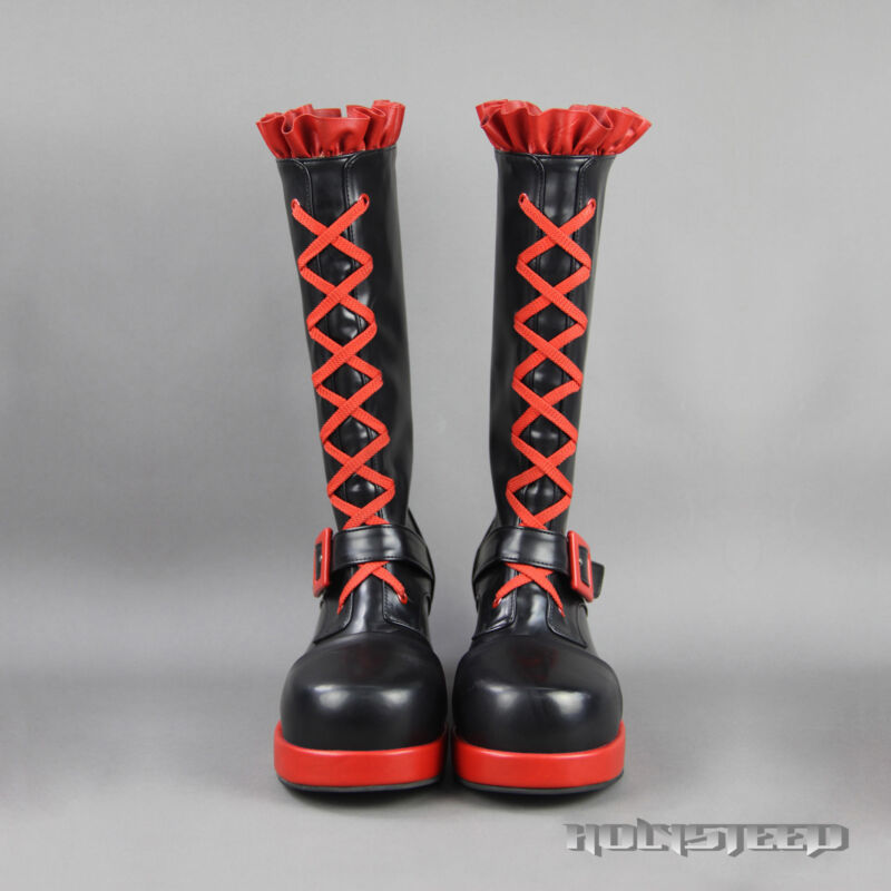 RWBY Ruby Rose Cosplay Shoes Boots