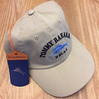 fce02fc080998 New with tags Tommy Bahama Mens Relax Khaki Dad Hat Beige Cap Strap Back  Unisex Paradise Best Offer + Free shipping