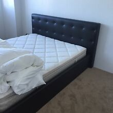 Queen bed flame and mattress for sale Haymarket Inner Sydney Preview
