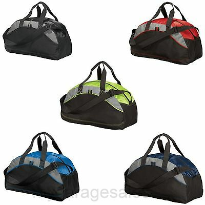 Port   Company Small Duffel Bag Gym Workout Sports Travel Carry On Athletic Bag