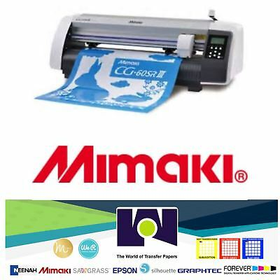Mimaki Cg-60rsiii Cutting Plotter 60cms - 24 Wide Japanese Quality 2yr Warranty