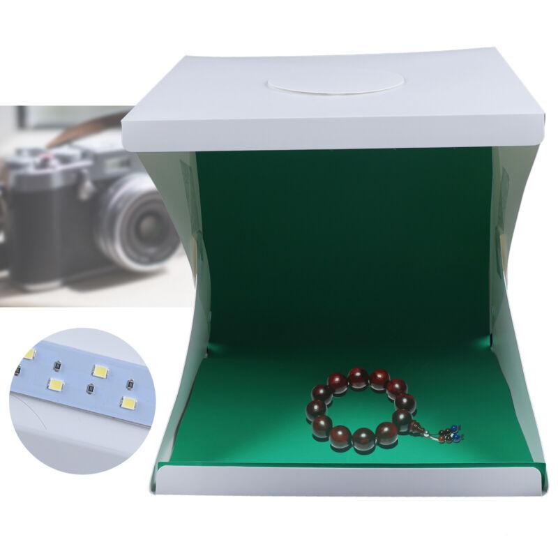 """Portable Photo Photography Light Box Lighting Room Kit Mini Cube Tent 16"""" + USB"""