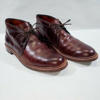Alden Men's 13781 Chukka Boot Leather Sole Brown Chromexcel 10 D Dress Shoes