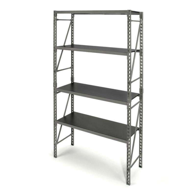 STEELMAN 42282 75-Inch 3-Shelf Storage Rack