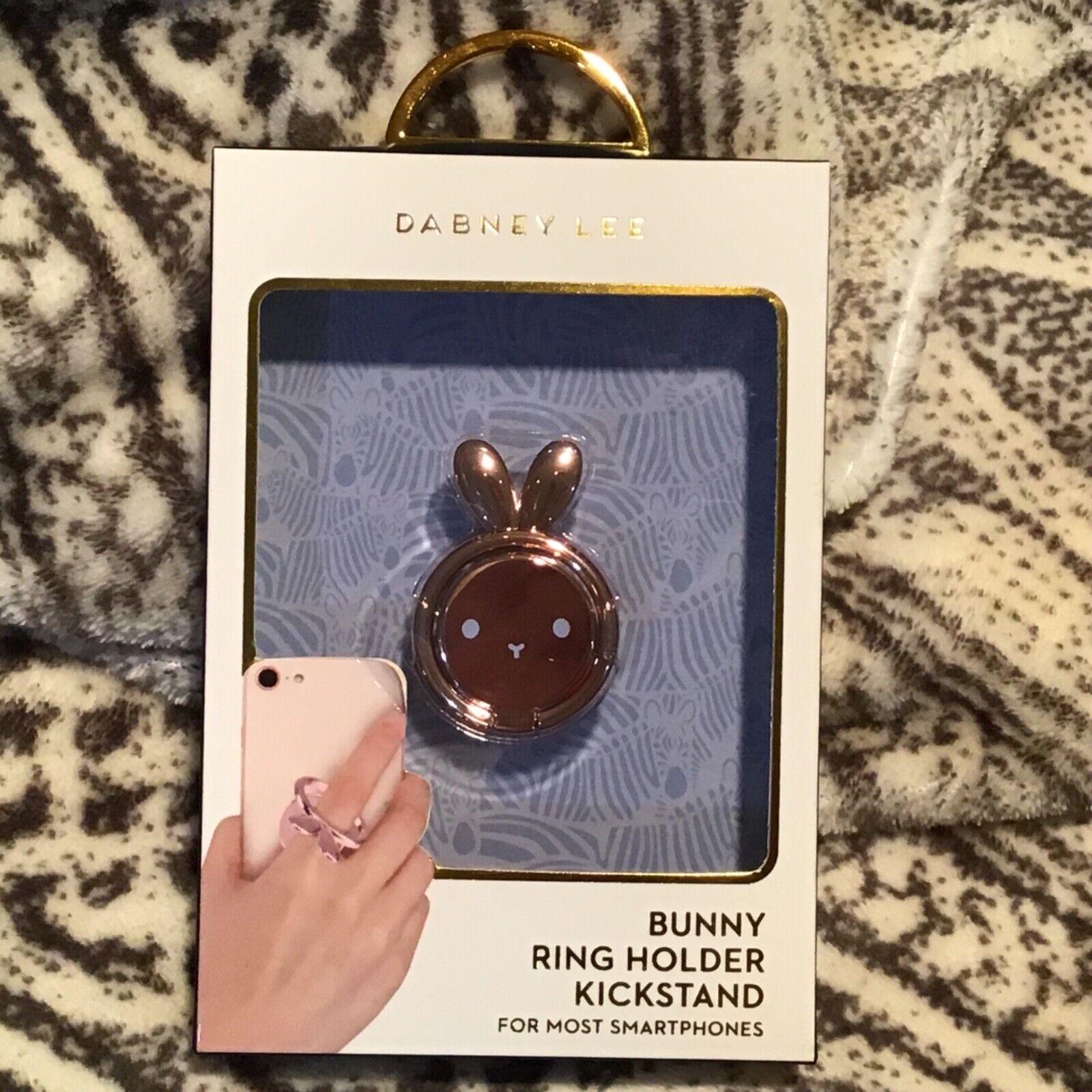 Dabney Lee Bunny Ring Holder Kickstand Rose Gold iPhone Sams