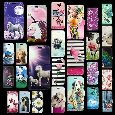 NEW FOR SAMSUNG GALAXY A20E A202FDS BOOK FLIP WALLET STYLE OPEN PHONE CASE COVER